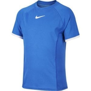 חולצת טניס לילדים נייקי NikeCourt Dri-FIT Boys' Short-Sleeve Tennis Top
