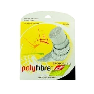 חוט שיזור בדמינטון Polyfibre ProForce X 0.72mm